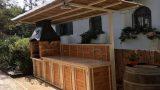 פאר עבודות מתכת - מטבח חצר בהתאמה אישית